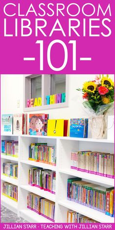 Classroom Library Organization: How should I set up my classroom library? Get MUST-READ ideas to organize and label your books, easy tips to create an inviting space for your students, discuss bins…More Classroom Library Labels, First Grade Classroom, Classroom Design, School Classroom, Classroom Decor, Classroom Libraries, Future Classroom, Classroom Hacks, School Libraries