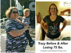 Weight Watchers Success Story Tracy H has lost 75 pounds while getting off her meds and gaining her life back with better choices, moderation and exercise
