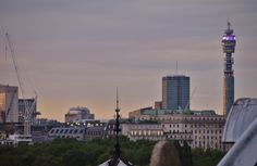 London sky at sunset Taken by myself
