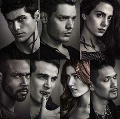 Shadowhunters season 2 character posters