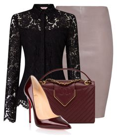 Untitled #1025 by mkomorowski on Polyvore featuring polyvore, fashion, style, Jitrois, Christian Louboutin, Chanel and clothing