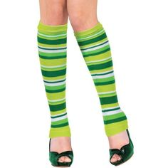 Sport Rugby//Football Club Colours Ladies//Girls Leg Warmers Dance jog walk party