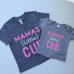 Mama's (little) Cub - PINK Ink Version