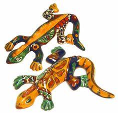 Talavera Gecko Lizard - Small or Medium