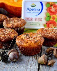 Muffinki Serowo-Dyniowe