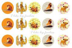 The Lion King Bottlecap images (FREEBIE)