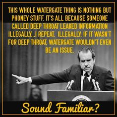 I give you Richard Nixon, a president who also thought he was King Shit in America.  Even wanted to prolong the war in Vietnam.  Does he sound familiar to anyone?  Maybe a certain Russian puppet in the White House today, perhaps?