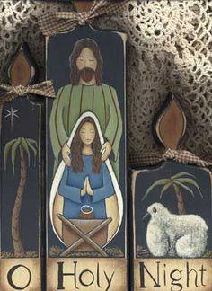 Nativity Pattern - Free decorative painting patterns