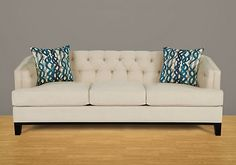 Potential living room couch. Rooms to Go Chicago couch in Hemp. $688