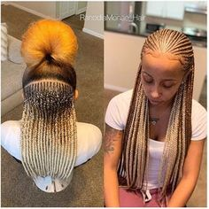 African Braids Styles Pictures Best Braided Hairstyles To Rock Fashion, Celebrity gossips, DIYs & Lots more!African Braids Styles Pictures Best Braided Hairstyles To RockHello Ladies, rocking it Af Ghana Braids Hairstyles, Cool Braid Hairstyles, African Hairstyles, Hairstyles Videos, Lemonade Braids Hairstyles, Hairstyle Pictures, Woman Hairstyles, Mohawk Hairstyles, Elegant Hairstyles