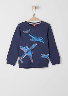 Sweatshirt mit Flugzeug-Motiven kaufen   s.Oliver Shop