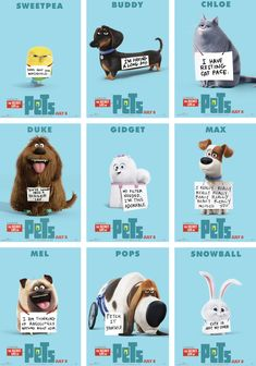handmade Gidget The Secret Life of Pets by JulyGass on Pets Movie, Secret Life Of Pets, Puppy Party, Animal Birthday, Pet Life, All Things Cute, About Time Movie, Animal Quotes, Cat Face