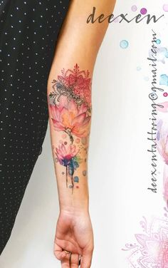 200 photos of female tattoos on the arm as inspiration – photos and t … - diy tattoo images Best Sleeve Tattoos, Wrist Tattoos, Body Art Tattoos, Small Tattoos, Cool Tattoos, Female Tattoo Sleeve, Temporary Tattoos, Tatoos, Diy Tattoo