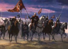 Cathars' Crusade Art by Karl Kopinski