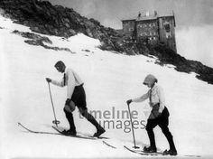 Skiwanderer in den Ötztaler Alpen ullstein bild - Waldemar Titzent/Timeline Images #1909 #Österreich #Skiing #Ski #Skifahren #Winter #Wandern #Berghütte