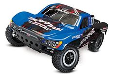 Hobby RC Trucks - Traxxas Slash VXL 110 Scale 2WD Short Course Racing Truck with TQi 24 GHz Radio  TSM Blue >>> Visit the image link more details.