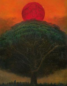Sharing my favourite artist - Zdzisław Beksiński - Album on Imgur