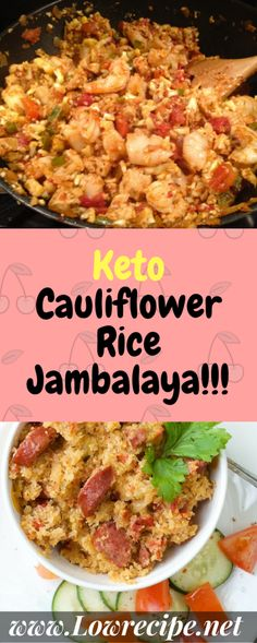 This Keto Cauliflower Rice Jambalaya Comes Together In One Large Pot And Is About The Calories Of The Rice Version… Ingredients [ For 4 to 5 people ] [ Preparation time : 22 minute – Cooking time : 25 minutes ] chopped Continue Reading → Ketogenic Recipes, Low Carb Recipes, Diet Recipes, Cooking Recipes, Healthy Recipes, Cooking Time, Ketogenic Diet, Weekly Recipes, Pcos Diet