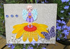 FLORA FAIRY  http://www.whimsystamps.com/index.php?main_page=product_info=13_38_id=2570  Card by Sheri  http://wwwfunwithpaper.blogspot.ca/
