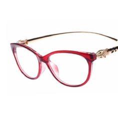 ac6d7ec53d Firenze Red - Cat Eye Elegant Golden Leopard Frame Reading Glasses