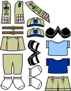 Girl Scout Cadette and Senior Clothes for Paper Dolls from Making Friends Girl Scout Uniform, Girl Scout Swap, Girl Scout Troop, Scout Leader, Boy Scouts, Conquistador, Girl Scouts Of America, Girl Scout Activities, Daisy Girl Scouts