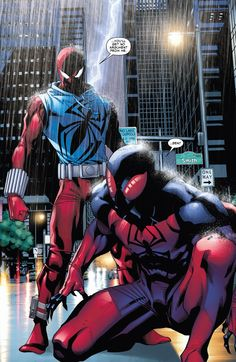 the scarlet spiders