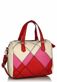 United Colors of Benetton Red Bowling Bag - Buy Women Hand Bags Online   UN573BG50UWVINDFAS
