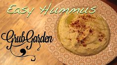 Easy to make Hummus By Garden Garden, YouTube