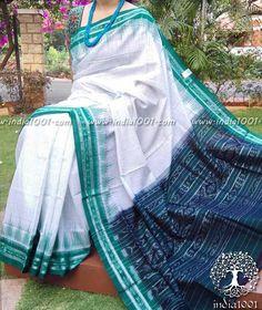 Woven Orissa Ikkat Cotton Saree(without BP)