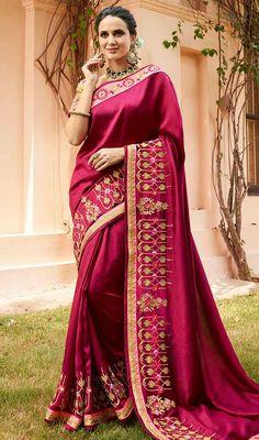 3cf310735d1d5 20 Best Latest Designer Indian Sarees Collection 2019 images