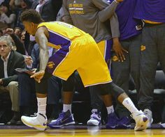 #SoleWatch: Nick Young Brings Back the Nike Kobe 3
