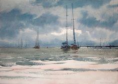 sergey temerev watercolor - Google Search