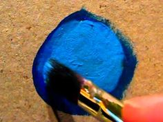 How To Blend With Acrylics - YouTube