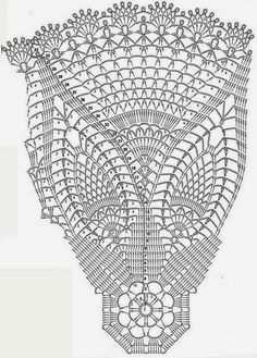 Only Crochet Patterns Archives - Beautiful Crochet Patterns and Knitting Patterns Crochet Tablecloth Pattern, Crochet Doily Diagram, Crochet Doily Patterns, Crochet Chart, Thread Crochet, Filet Crochet, Crochet Designs, Knitting Patterns, Crochet Dollies