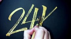 AWESOME RULING PEN 🖋 CALLIGRAPHY COMPILATION Calligraphy Video, Calligraphy Letters, Letter A Crafts, Hair Accessories, Lettering, Fountain Pens, Awesome, Crafting, Youtube