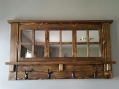 coat+rack+Wall+coat+rack+mirrored+coat+rack+by+MTrusticwoodwork,+