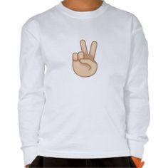 Victory Hand Emoji T Shirt