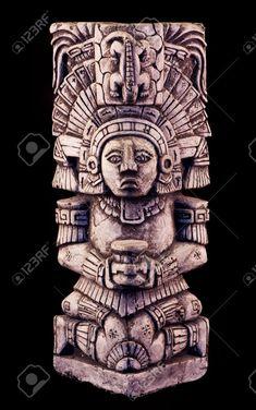 aztec sculpture - Google Search