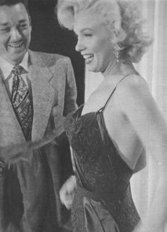 """""""Please dress me forever, I love you, Marilyn."""" ~Marilyn Monroe to William Travilla"""