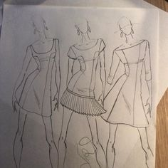 #fashion #quicksketch #dress #cizimdersleri #fashionfigure #