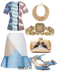 Designer Clothes, Shoes & Bags for Women Guess, Mary Katrantzou, Simple Outfits, Stylish, Polyvore, Stuff To Buy, Shopping, Collection, Design