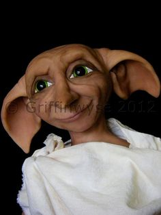House Elf OOAK Art Doll Jointed Doll Custom order by Griffinwyse, $500.00
