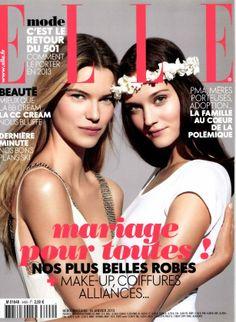 """La couv' du magazine """"Elle"""" : """"Mariage pour toutes !"""""""