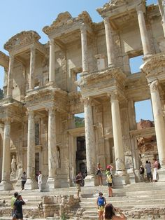The Library of Celsus in Ephesus, Turkey. Loved this place.