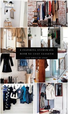 8 Inspiring No Coat Closet Entryways