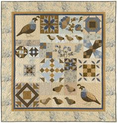 Quail Hollow Quilt...I made this pattern