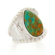 Jay King Pilot Mountain Turquoise Sterling Silver Ring