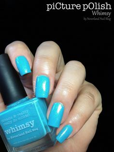 piCture pOlish 'Whimsy' mani creation by Fashion Polish!  Buy on-line now:  www.picturepolish.com.au