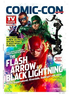 'Riverdale,' 'Arrow,' 'Black Lightning,' 'The Flash,' and More Cover TV Guide Magazine's Comic-Con 2017 Special Issue – TV Insider