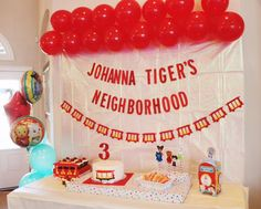 A Daniel Tiger Themed 3rd Birthday Party - Oh Happy Play -A Daniel Tiger Themed 3rd Birthday Party by Oh Happy Play // Daniel Tiger - Birthday Party - Girls party - Boys Party - Trolley themed party- Themed Party for kids - 3rd birthday - Daniel Tiger's Neighborhood - Party - www.ohhappyplay.com